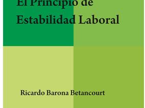 Libro: El Principio de Estabilidad Laboral