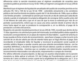 Consejo de Estado precisa diferencias entre los regímenes de sanción moratoria de la ley 50 de 1990