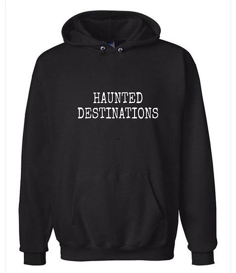 Haunted Destinations  hoodie Lg