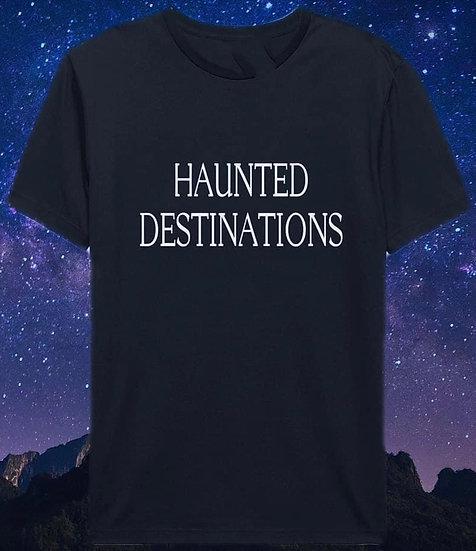 Haunted Destinations tee med