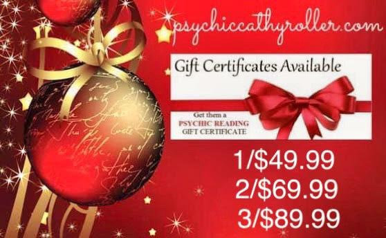2/$69.99  Gift Certificates Readings  200.00 Value