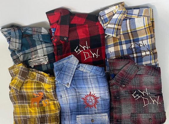 Mystery Plaid Flannel Shirt