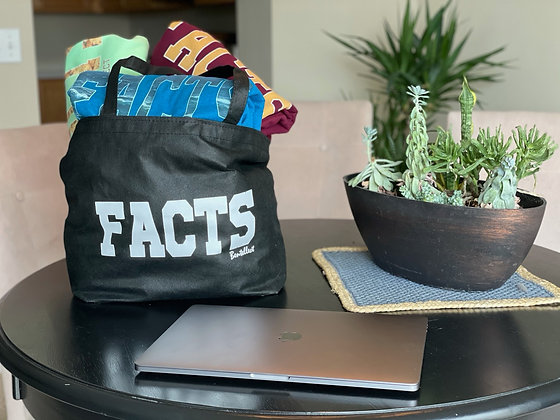 FACTS Bentellect Tote Bag