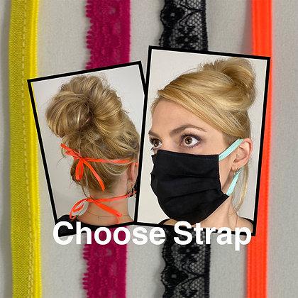 Choose Straps Face Mask Washable Reusable