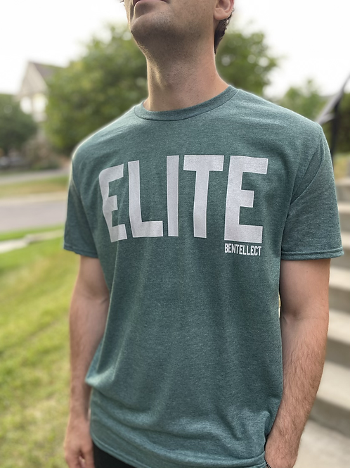 ELITE Heather Teal T-Shirt
