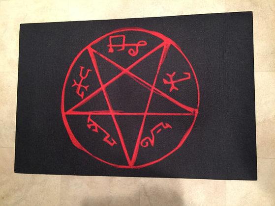 Devil's Trap Rug