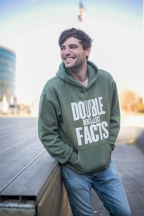 Green Double FACTS Bentellect Hooded Sweatshirt