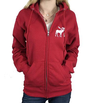 Supernatural Hoodie Zip Up Sweatshirt Hooded Custom Embroidery