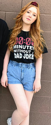0/0 Minutes Without a DAD JOKE T Shirt