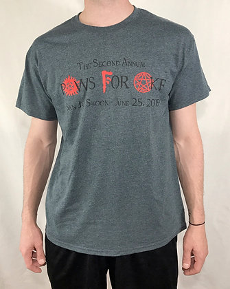 PAWS for AKF Symbols T-Shirt Gray