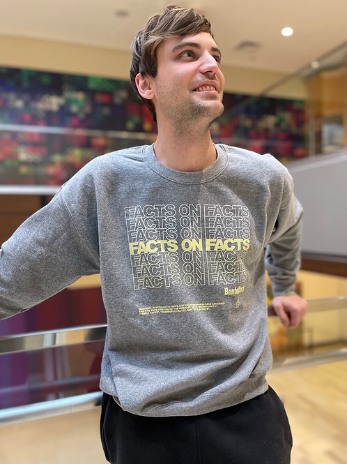 FACTS ON FACTS Crewneck Sweatshirt