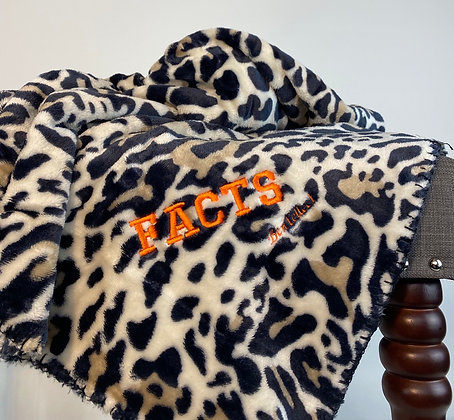 FACTS Leopard Bentellect Blanket