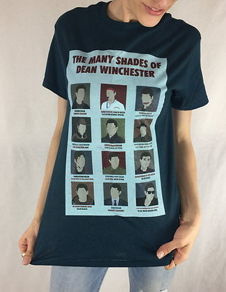 Many Shades of Dean Winchester T-Shirt