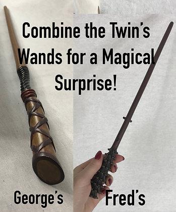 Set of Weasley Twins Metal Core Wands