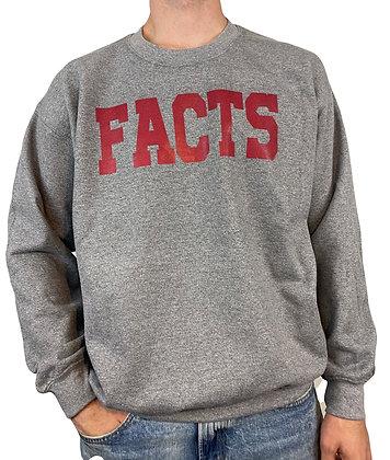 FACTS Gray Bentellect Crewneck Sweatshirt