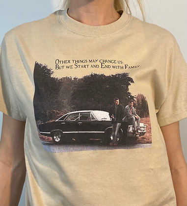 Sam Dean and Baby T-Shirt