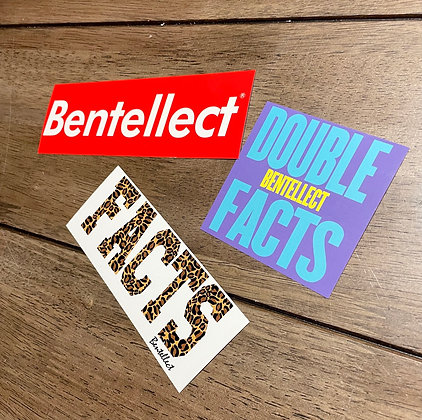 Bentellect Sticker Pack FACTS