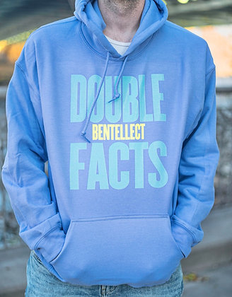 Lavender Double FACTS Bentellect Hooded Sweatshirt