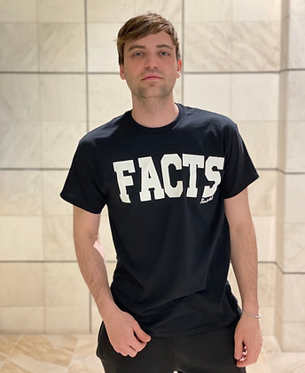 Classic Black FACTS T-Shirt