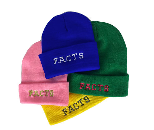 FACTS Beanie Bentellect Hat