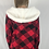 Thumbnail: Sherpa Hooded Cardigan Plaid Custom Design
