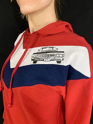Color Block Pullover Hoodie Impala Supernatural exclusive