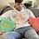 Thumbnail: Bentellect Candy Hearts Hooded Sweatshirt