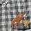 Thumbnail: Moose and squirrel plaid shirt 3XL