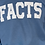 Thumbnail: FACTS Blue Bentellect Crewneck Sweatshirt