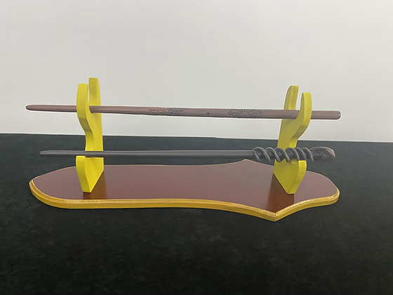 Gryffindor Wand Table Mount Wooden