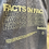 Thumbnail: Facts On Facts Heather Gray Crewneck Sweatshirt