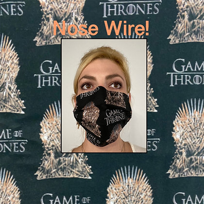 Game of Thrones Throne Face Mask