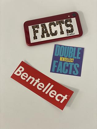 Bentellect Sticker Pack FACTS