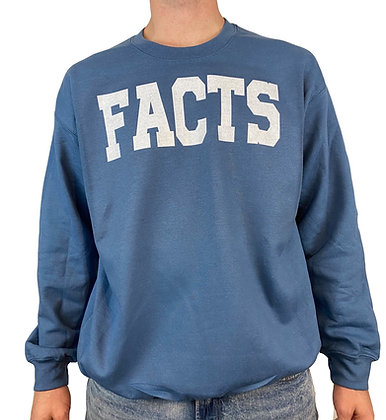 FACTS Blue Bentellect Crewneck Sweatshirt