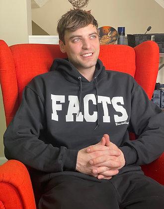 Black FACTS Hooded Sweatshirt