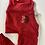 Thumbnail: Baby Red Zip Up Sweatshirt Small