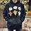 Thumbnail: Halloween FACTS Black Bentellect Hooded Sweatshirt