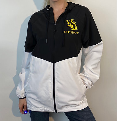 Hufflepuff Men's Waterproof Windbreaker