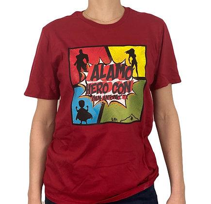 Alamo Hero Con Superhero T-Shirt