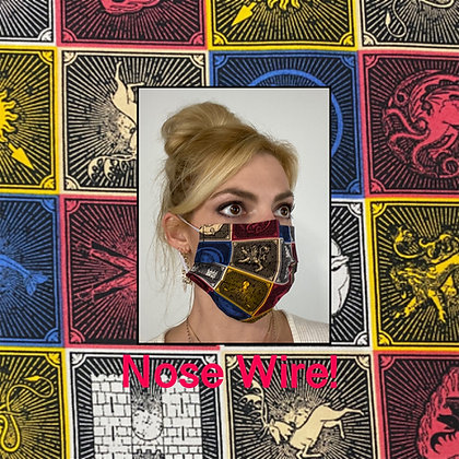 Game of Thrones Crests Face Mask