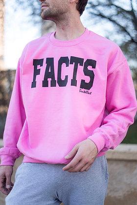Bubble Gum FACTS Crewneck Sweatshirt