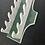 Thumbnail: Slytherin Wand Wall Mount Wooden