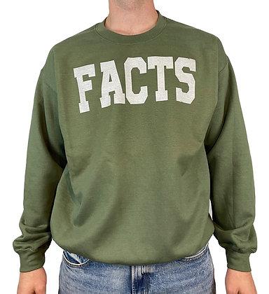 FACTS Green Bentellect Crewneck Sweatshirt