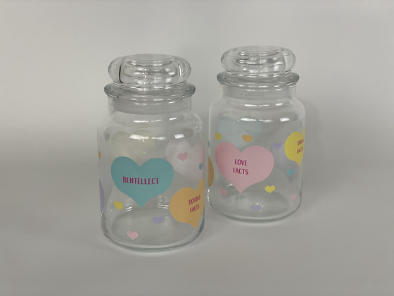 Bentellect Candy Hearts Jar Exclusive