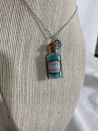 Angel Grace Vial Necklace