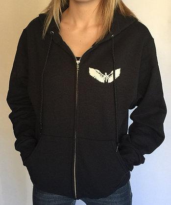 Castiel Zip-Up Hoodie Sweatshirt