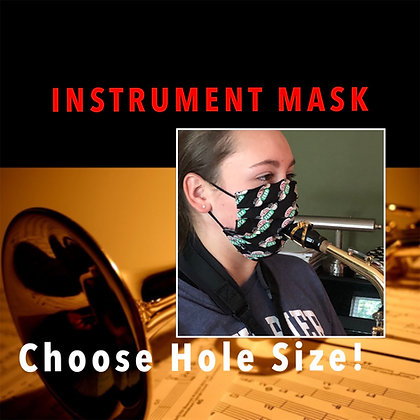 Double Layer Instrument Face Mask