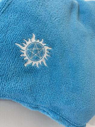 Blue Supernatural blanket throw super soft