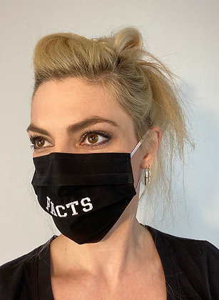 FACTS Classic Black Bentellect Face Mask