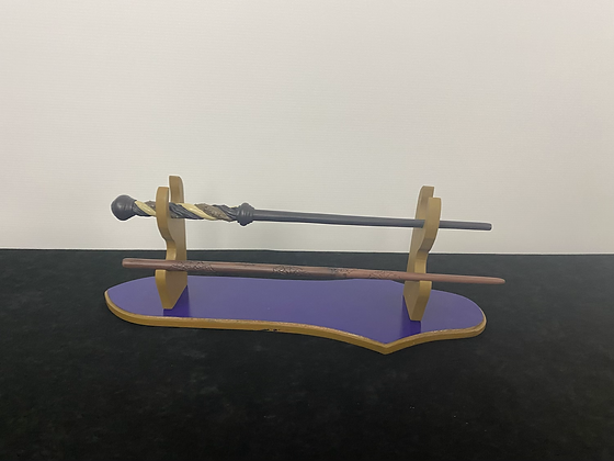 Ravenclaw Wand Table Mount Wooden